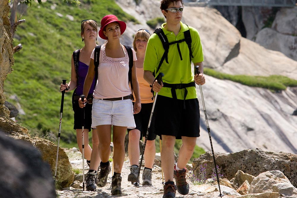 Nordic Walking im Saastal